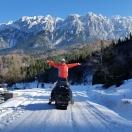 חופשת אופנועי שלג ברומניה