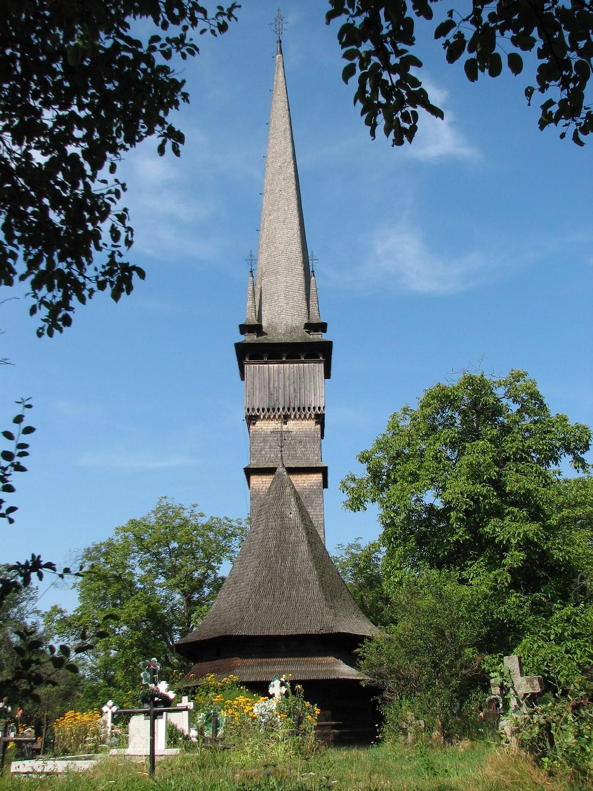 Surdesti Wooden Church